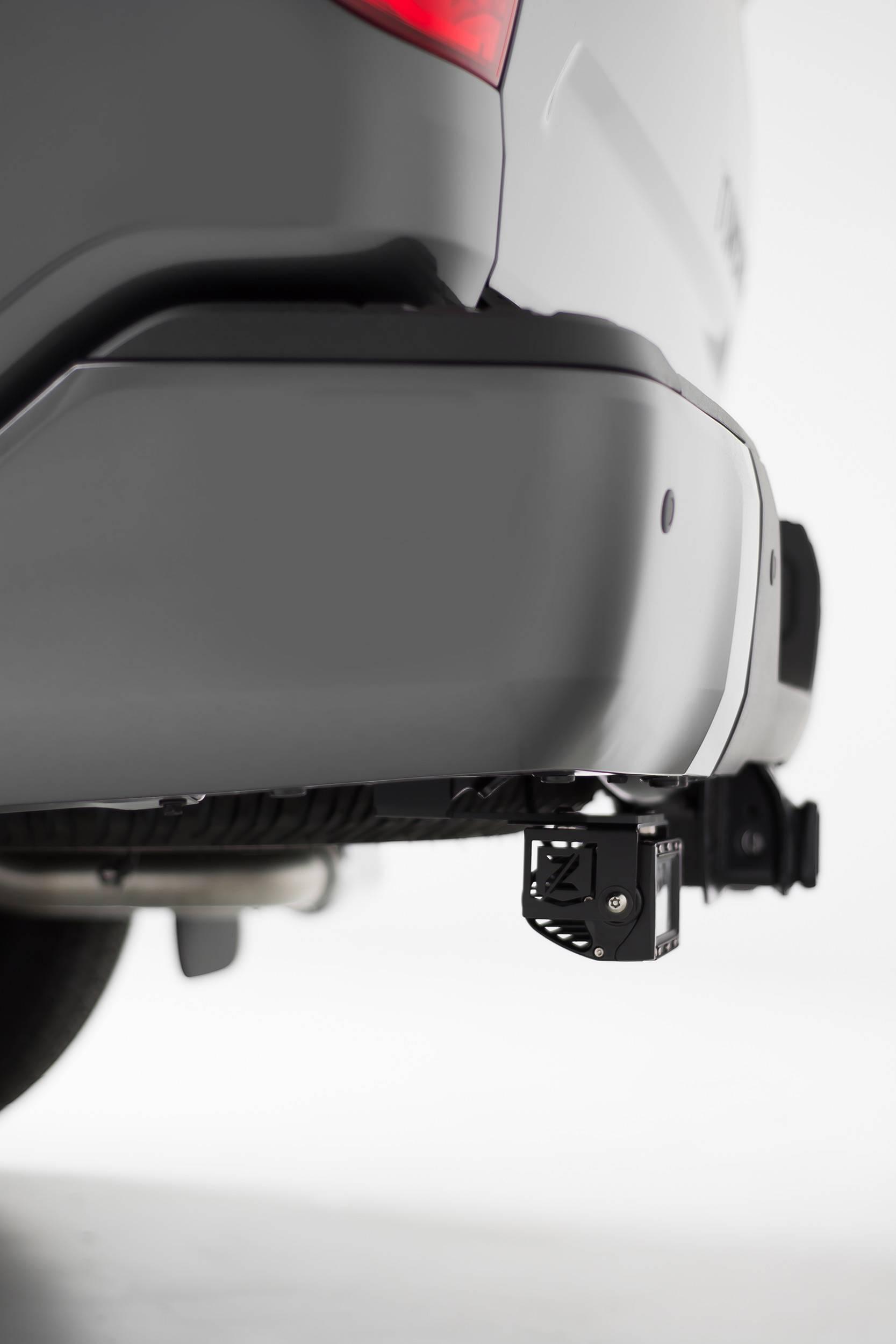 ZROADZ - 2014-2021 Toyota Tundra Rear Bumper LED Bracket to mount (2) 6 Inch Straight Light Bar - PN #Z389641