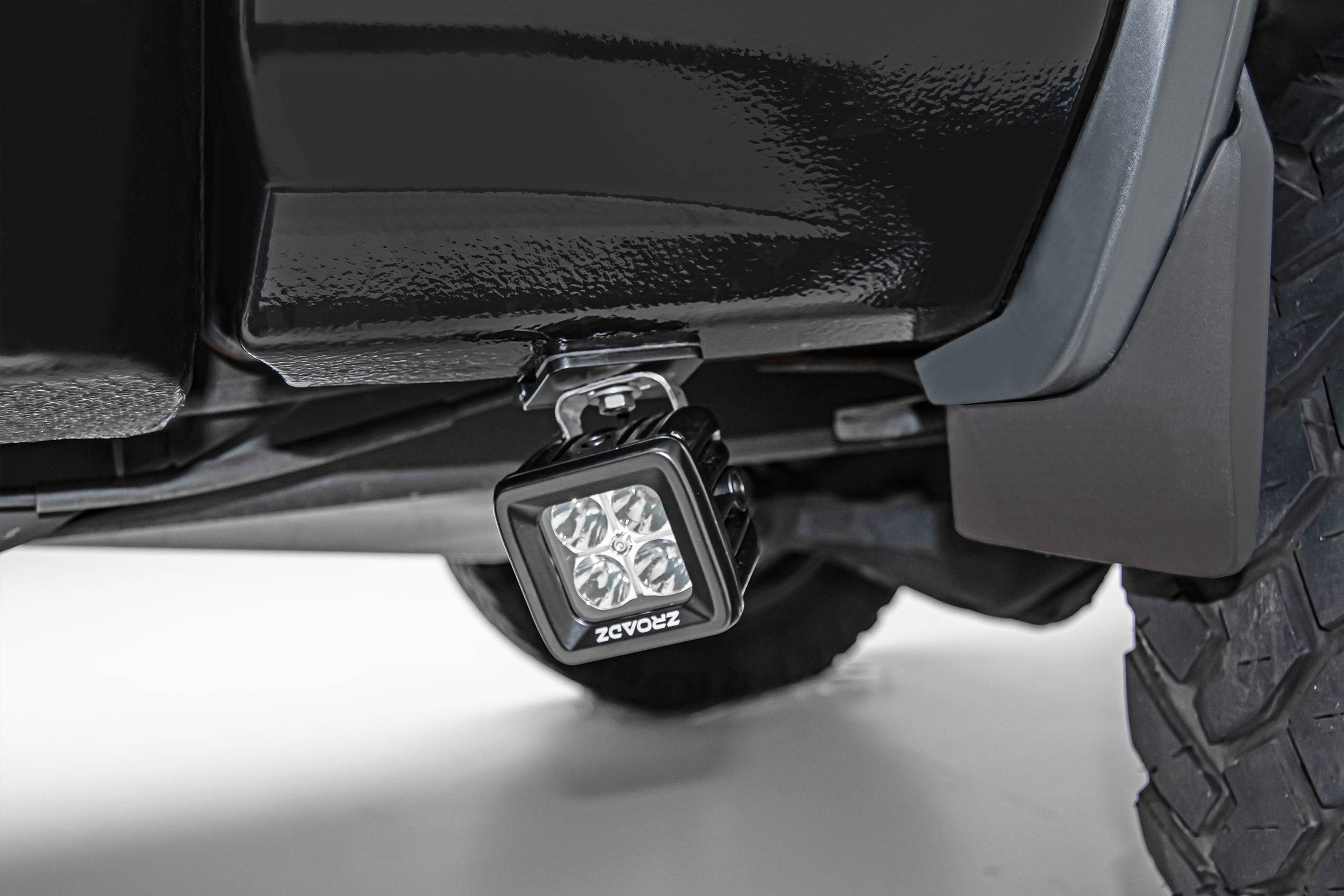 ZROADZ - Universal Panel Clamp LED Bracket to mount (2) 3 Inch LED Pod Lights - PN #Z390002