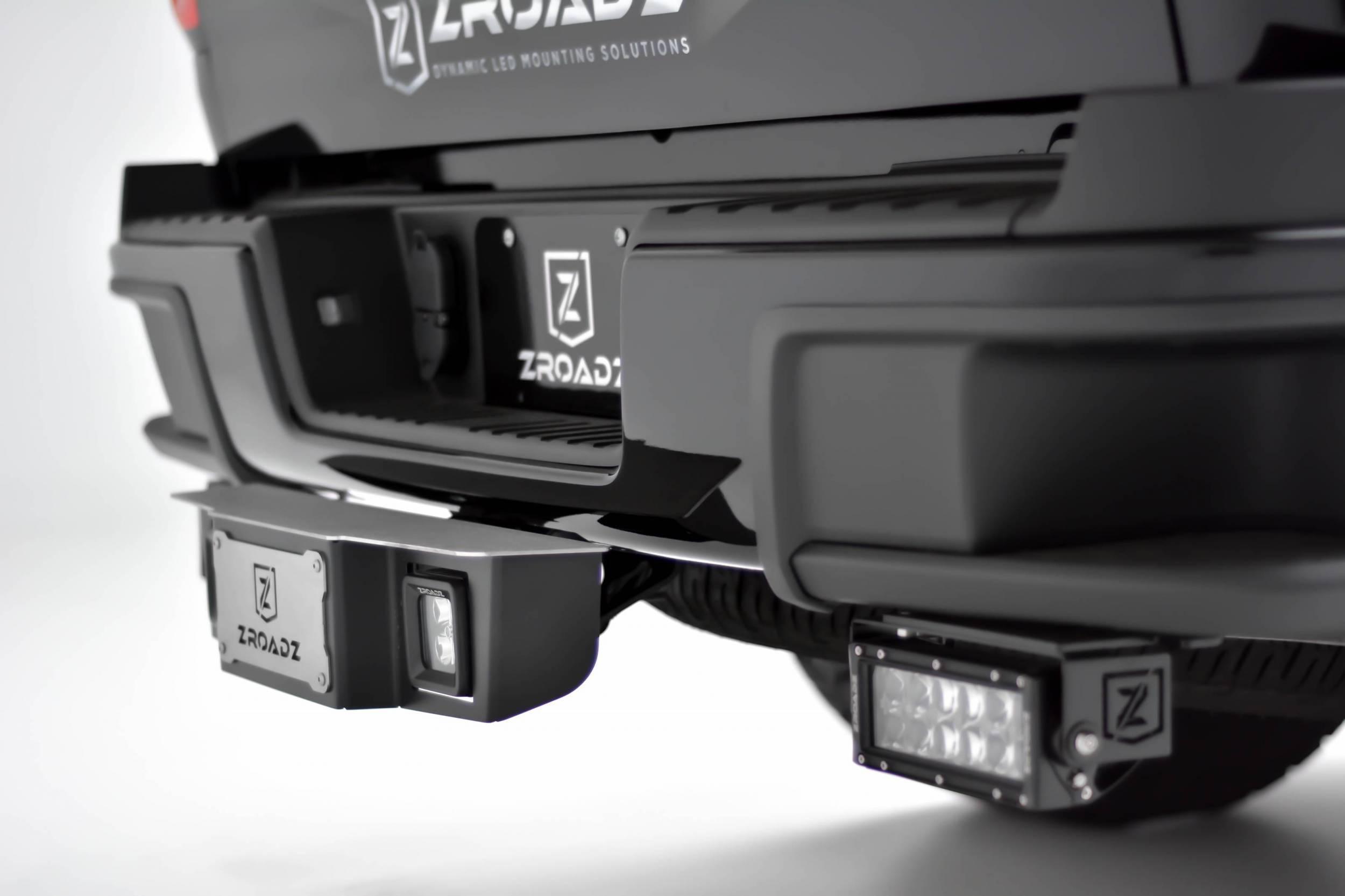 ZROADZ - Universal Hitch Step LED Kit with (2) 3 Inch LED Pod Lights, Fits 2,5 Inch Receiver - PN #Z390011-KIT