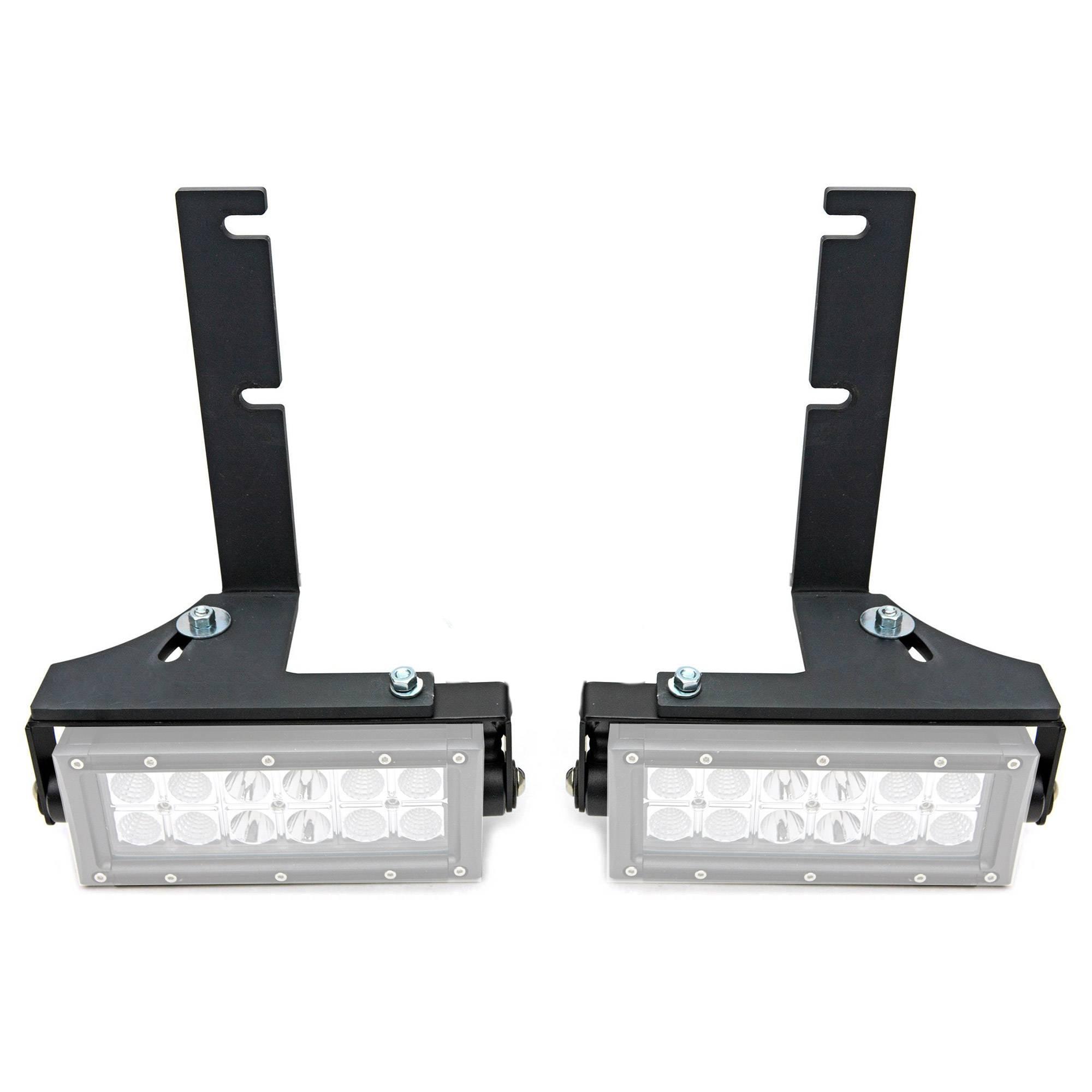 ZROADZ - 2014-2018 Silverado, Sierra 1500 Rear Bumper LED Bracket to mount (2) 6 Inch Straight Light Bar - PN #Z382082