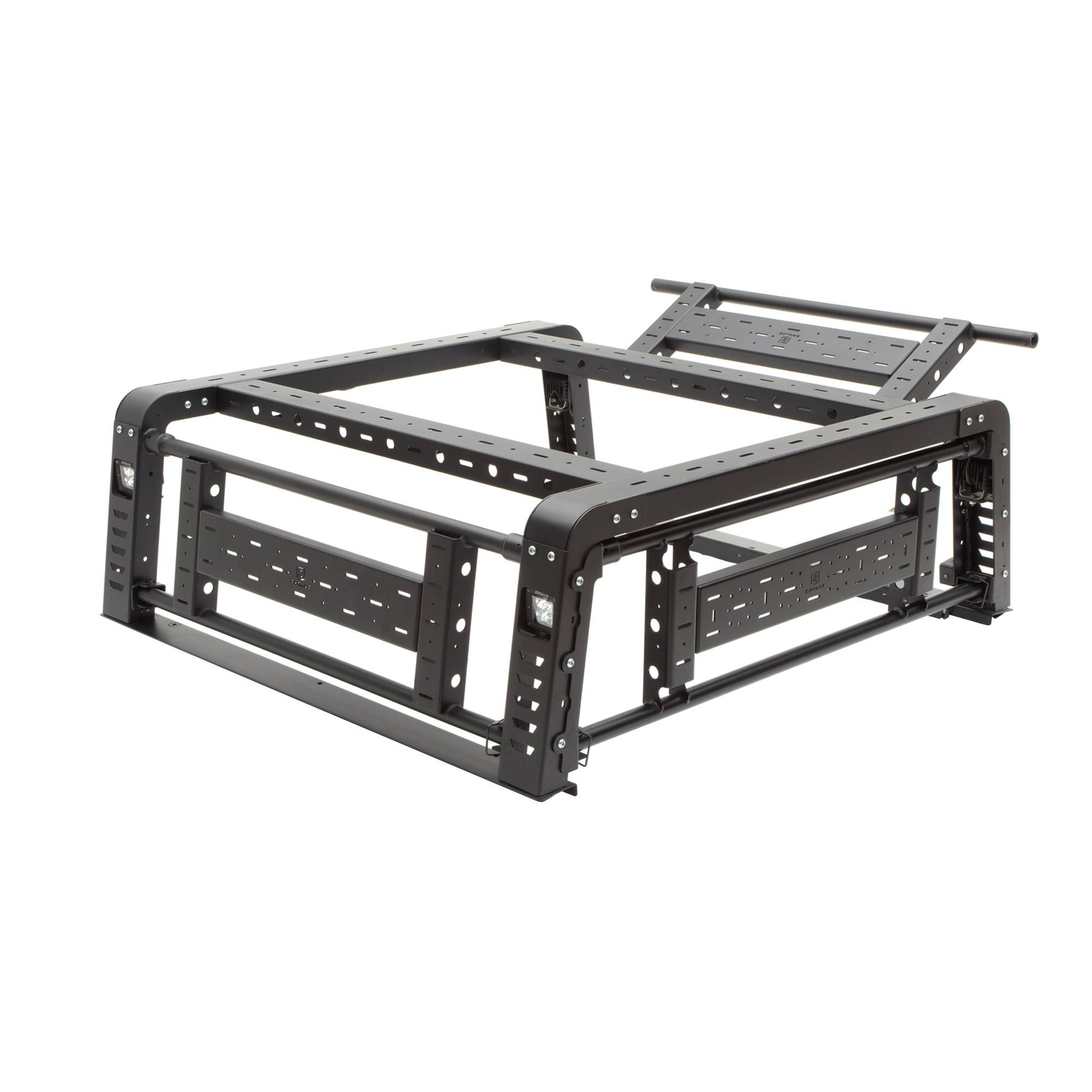 ZROADZ - 2019-2021 Ford Ranger Access Overland Rack With Three Lifting Side Gates - PN #Z835201