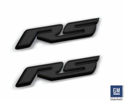 "T-REX Grilles - Chevrolet Camaro Defenderworx Billet ""RS"" Logo - GM Licensed - Black - Pt # 6910031"