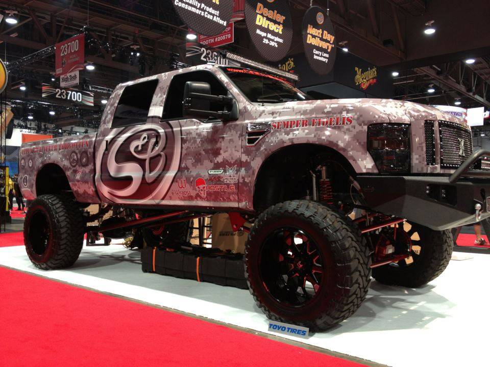 Sema Vehicles Cover