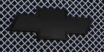 Accessories for Trucks & Cars - Emblems Billet Accessories - T-REX Chevrolet Silverado Billet Bowtie - w/Border - Black - Pt # 19100B