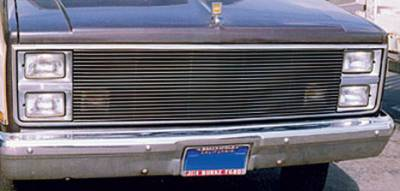 Billet Series Grilles - T-REX Chevrolet Chevy/GMC PU Billet Grille Insert 20 Bars - Pt # 20015