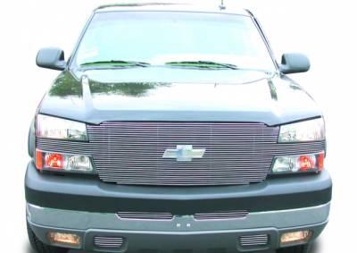 "Billet Series Grilles - T-REX Grilles - Chevrolet Silverado ""Full Face"" Billet - Replaces Factory Grille Shell UPS OS3 - Pt # 20101"