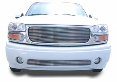 T-REX Grilles - GMC Billet Grille, Polished, 1 Pc, Insert - PN #20175