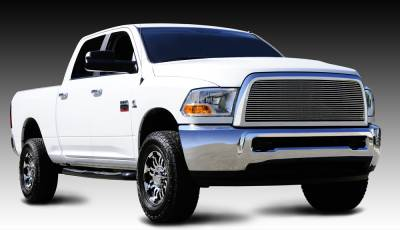 T-REX Grilles - 2010-2012 Ram 2500, 3500 Billet Grille, Polished, 1 Pc, Insert - PN #20451