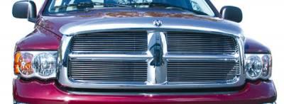 Clearance - T-REX Grilles - Dodge Ram PU All Models Billet Grille Insert - 4 Pc Bolt On 11 Bars Each - Pt # 20460