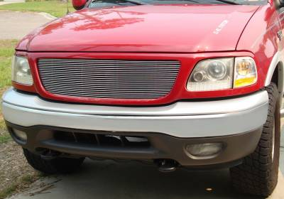 T-REX Grilles - 1999-2003 F-150, 97-02 Expedition Billet Grille, Polished, 1 Pc, Insert - PN #20580