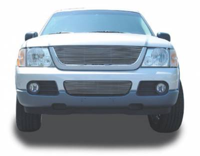 Clearance - Ford Explorer Billet Grille Insert 19 Bars - Pt # 20655
