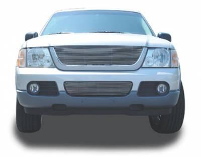 Clearance - T-REX Ford Explorer Billet Grille Insert 19 Bars - Pt # 20655