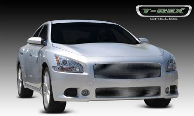 T-REX Grilles - 2009-2014 maxima Billet Grille, Polished, 1 Pc, Replacement - PN #20758