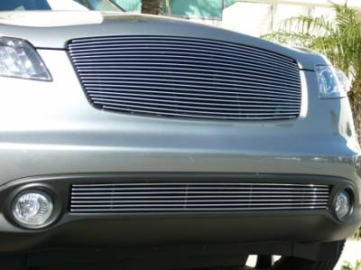 T-REX Grilles - 2003-2008 Infiniti FX Billet Grille, Polished, 1 Pc, Replacement - PN #20792