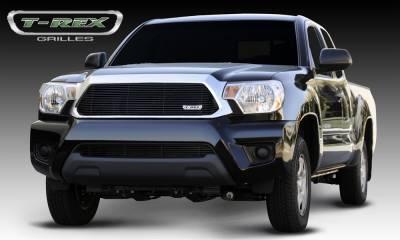 Billet Series Grilles - T-REX Toyota Tacoma Billet Grille Insert - All Black - Pt # 20938B
