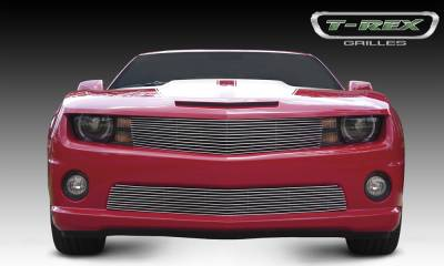 Billet Series Grilles - T-REX Chevrolet Camaro ALL Billet Grille - OE Bowtie can be re-installed Optional - Pt # 21027