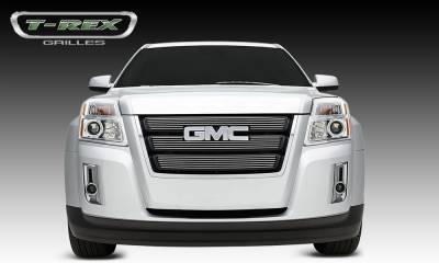 T-REX Grilles - 2010-2014 GMC Terrain Billet Grille, Polished, 3 Pc, Overlay - PN #21154