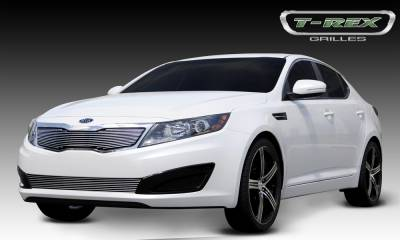Billet Series Grilles - T-REX Grilles - Kia Optima Billet Grille Overlay Will not fit SX or vehicles with Sporty Type Grille - Pt # 21320