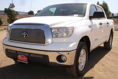 Billet Series Grilles - T-REX Toyota Tundra  Billet Grille Overlay/Bolt On - with logo Opening - Pt # 21959