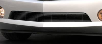 Billet Series Grilles - T-REX Chevrolet Camaro RS Bumper Billet Grille RS, LS, LT Models - All Black - Pt # 25027B