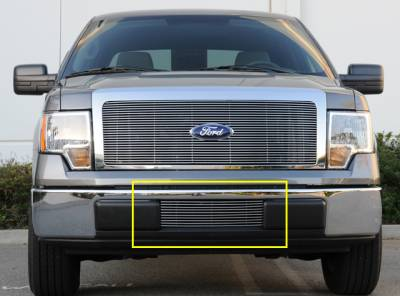 Billet Series Grilles - Ford F-150 Bumper Billet Grille Insert - Pt # 25569