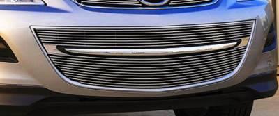 Billet Series Grilles - Mazda CX9 Bumper Billet Grille Insert - 4 Pc Includes polished end caps - Pt # 25639