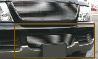 Billet Series Grilles - Ford Explorer Bumper Billet Grille Insert 11 Bars - Pt # 25656