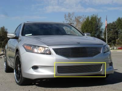 Billet Series Grilles - Honda Accord Coupe Bumper Billet Grille Insert - Pt # 25729