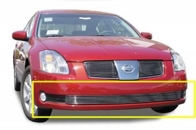 Billet Series Grilles - Nissan Maxima Bumper Billet Grille Insert 7 Bars - Pt # 25752