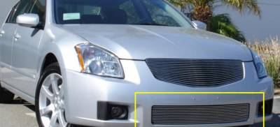Clearance - Nissan Maxima Bumper Billet Grille Insert 11 Bars - Pt # 25757