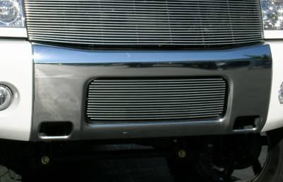 Billet Series Grilles - Nissan Titan Bumper Billet Grille Insert 16 Bars - Pt # 25780