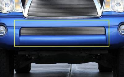 Billet Series Grilles - T-REX Toyota Tacoma Bumper Billet Grille Insert  6 Bars - Pt # 25895