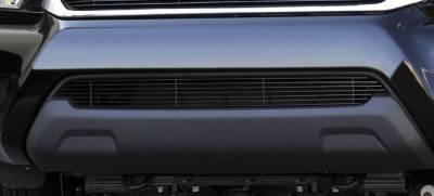 Billet Series Grilles - T-REX Toyota Tacoma Bumper Billet Grille Insert - All Black - Pt # 25938B