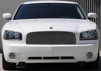 Clearance - T-REX Dodge Charger VERTICAL Billet Grille Insert - Pt # 30474