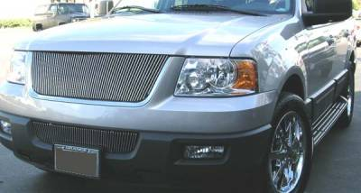 Billet Series Grilles - Ford Expedition VERTICAL Billet Grille Insert 61 Bars - Pt # 30593