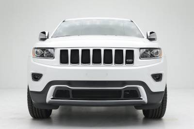 Sport Series Grilles - T-REX Jeep Grand Cherokee Sport Series Formed Mesh Grille - All Black - Pt # 46488