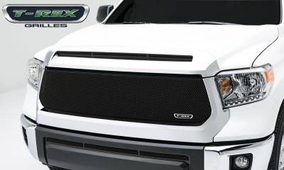 Sport Series Grilles - T-REX Grilles - Toyota Tundra   Sport Series, Formed Mesh, Main Grille, Replacement, 1 Pc, Black Powdercoated Mild Steel - Pt # 46965
