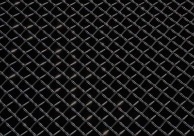 "Emblems, Logoz and DIY Components - DIY Components - T-REX Grilles - ALL Most Vehicles Stainless Steel Wire Mesh Flat - Black - 12""x40""  - Mesh Size = 3 Squares per Inch - Pt # 51009"