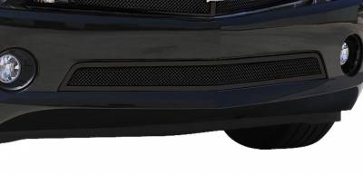 T-REX Grilles - Chevrolet Camaro RS Upper Class Mesh Bumper  - All Black - With Formed Mesh  RS, LS, LT Models - Pt # 52027