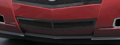 T-REX Grilles - 2008-2013 Cadillac Upper Class Bumper Grille, Black, 1 Pc, Replacement - PN #52197