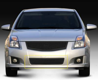 Clearance - Nissan Sentra 2.0 SR, SE-R Upper ClassMesh Bumper - All Black - Pt # 52764