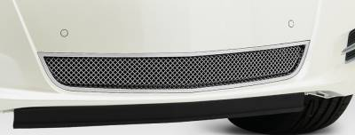 Upper Class Series Grilles - T-REX Cadillac XTS Upper Class, Formed Mesh Grille, Bumper, Overlay, 1 Pc, Polished Stainless Steel Will not fit Platinum Edition. - Pt # 55173