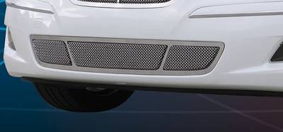 Upper Class Series Grilles - T-REX Grilles - Hyundai Genesis Sedan Upper Class Polished Stainless Bumper Mesh Grille  - Pt # 55494