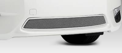 Upper Class Series Grilles - T-REX Grilles - Nissan Altima 2.5 S Upper Class Stainless Mesh Bumper - Pt # 55768