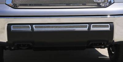 Legacy Series Grilles - Custom Grilles - T-REX Toyota Tundra  Upper Class Stainless Bumper - 3 Pc - Pt # 55961