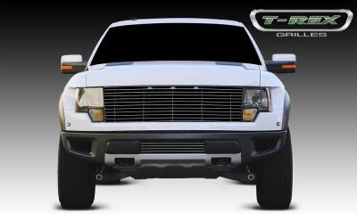 Laser Billet Grilles - T-REX Grilles - Ford Raptor F-150 SVT Laser Billet Grille - w/ Polished Leading Edges - Pt # 6215660