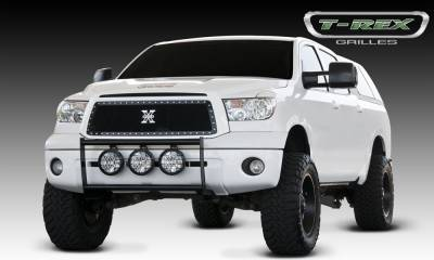 X-Metal Series Grilles - T-REX Grilles - Toyota Tundra  X-METAL Series - Studded Main Grille - ALL Black - Pt # 6719631