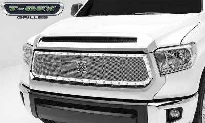 X-Metal Series Grilles - T-REX Grilles - Toyota Tundra  X-Metal Series, Formed Mesh, Main Grille, Replacement, 1 Pc, Polished Stainless Steel - Pt # 6719640