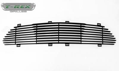 T-REX Grilles - 2015-2017 Mustang GT Laser Billet Grille, Black, 1 Pc, Replacement - PN #6215301 - Image 4