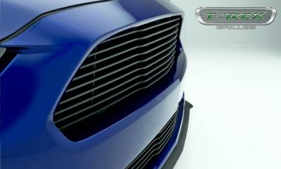 T-REX Grilles - 2015-2017 Mustang GT Laser Billet Grille, Black, 1 Pc, Replacement - PN #6215301 - Image 3